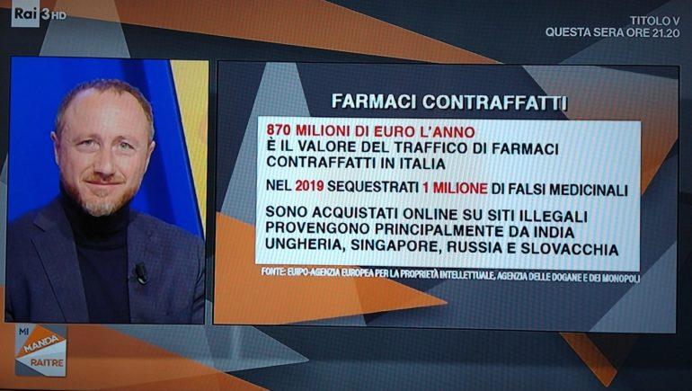 Luigi Gabriele a MiMandaRai3 del 13 novembre 2020